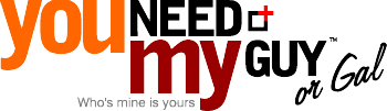 You Need My Guy Logo